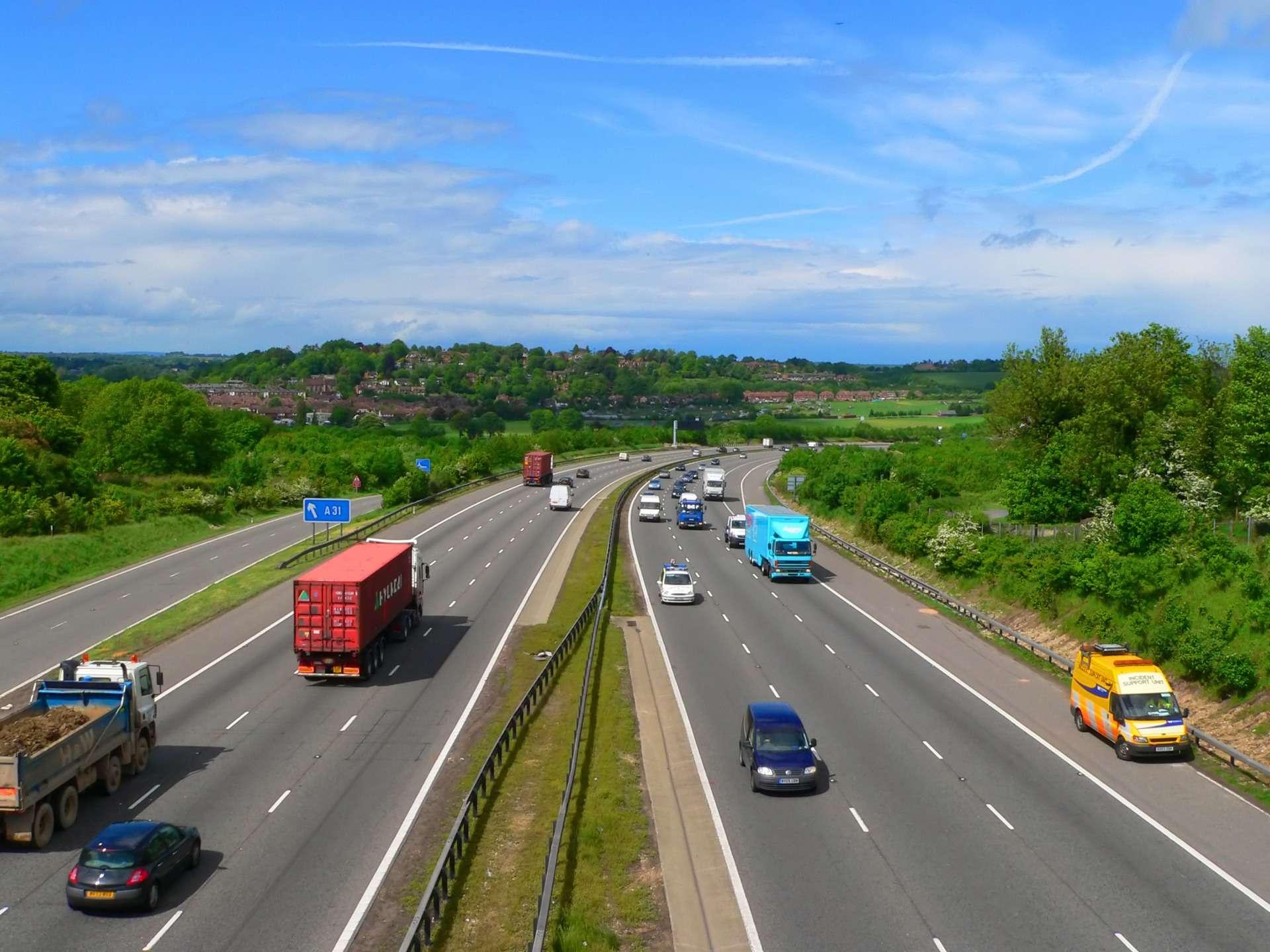 Vrachtwagens blijven door België rijden